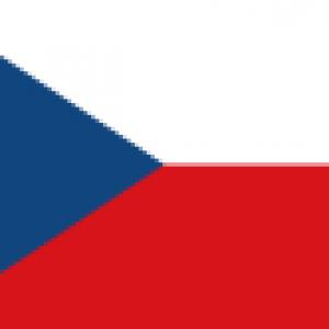 map of czech
