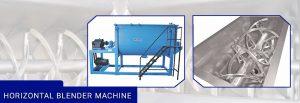 horizontal blender machine supplier in india