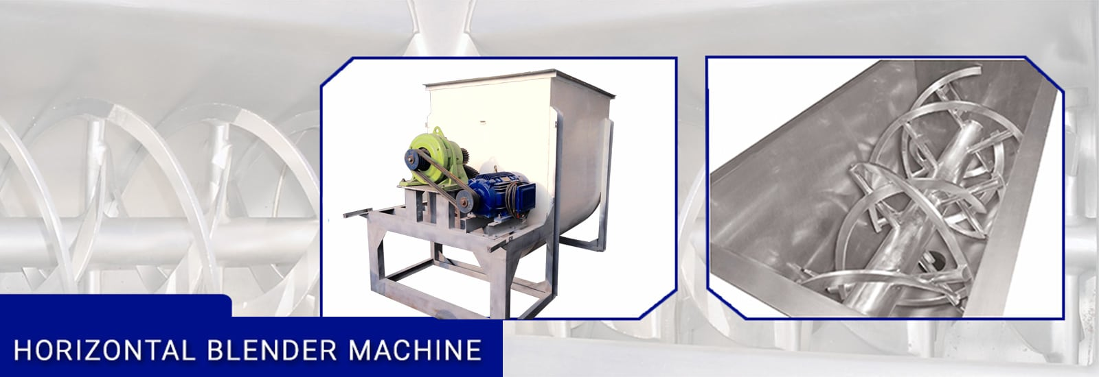 horizontal blender machine manufacturer in maharashtra