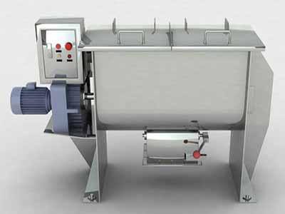 Large Scale Ribbon Blenders Manufacturer, Supplier and Exporter in Ahmedabad, Gujarat, India