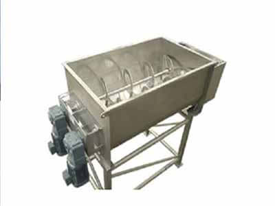 Leading top quality material and lowest price Manufacturer, Supplier and Exporter of Single Shaft Ribbon Blender in Ahmedabad, Gujarat, India